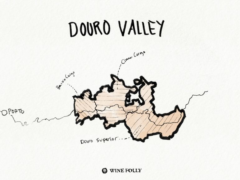 Portugal-illustrations-vallée du Douro